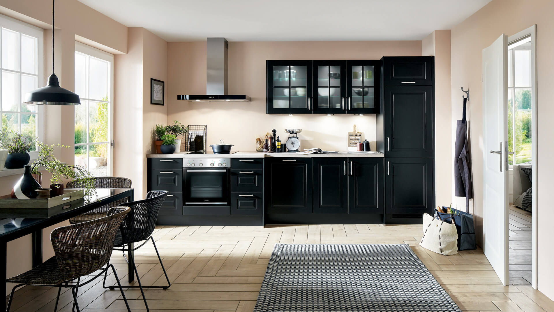 sylt - noir mat - envia cuisines